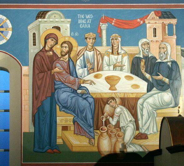 Le nozze di Cana dans immagini sacre wedding-at-cana
